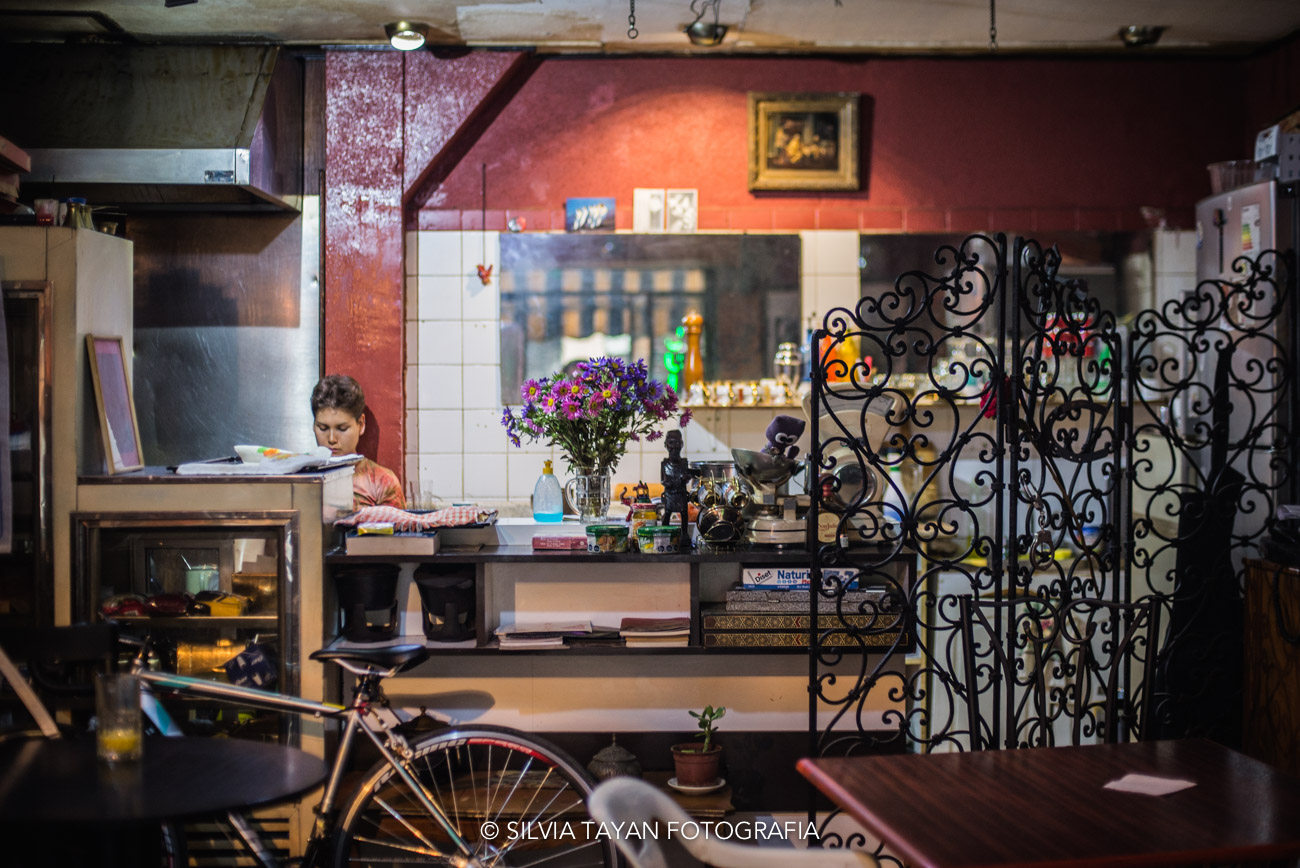 """Café Converseria Don Julio"" en Santiago de Chile"