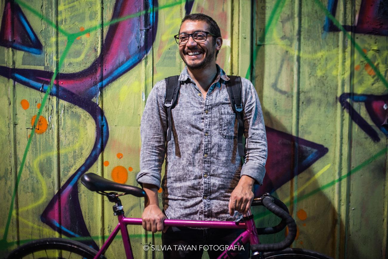 """Rodrigo Quiroz, vocero en """"Furiosos Ciclistas"""""""